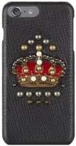 Dolce & Gabbana Embellished Crown iPhone 7/8 Plus Case