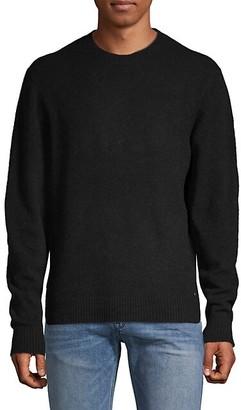HUGO BOSS Textured Wool-Blend Sweater