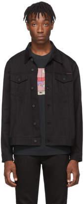 Nudie Jeans Black Rebirth Denim Jerry Dry Jacket