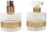 One Kings Lane Vintage Austrian Crystal Perfume Bottles, S/2