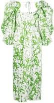 Rosie Assoulin Madame Butterfly puff-sleeves dress