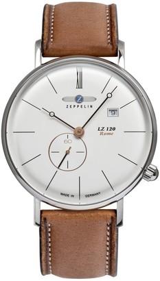 Zeppelin Men's Analogue Quartz Watch with Leather Strap 7138-4