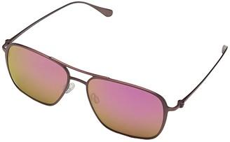 Maui Jim Beaches (Matte Brushed Burgundy/Maui Sunrise) Fashion Sunglasses