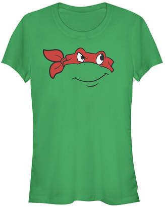 Fifth Sun Teenage Mutant Ninja Turtles Women Raphael Big Face Costume Short Sleeve Tee Shirt