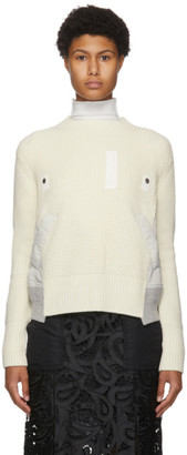 Sacai Off-White Knit Sweater