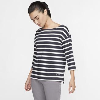 Nike Women's 3/4-Sleeve Golf Top Dri-FIT UV