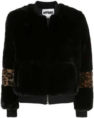 Apparis Jem faux-fur bomber jacket