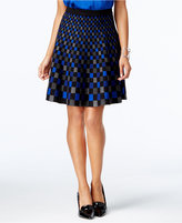 Grace Elements A-Line Sweater Skirt