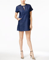 GUESS Cleave Indigo Shift Dress