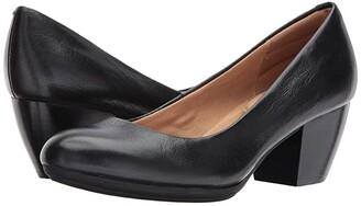 Comfortiva Amora (Black River Leather) High Heels