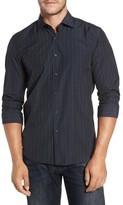 Robert Barakett Men's Charleston Regular Fit Plaid Sport Shirt