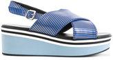 Robert Clergerie Pulpa platform sandals - women - Lamb Skin - 35