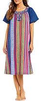 Go Softly Jacquard Denim Patio Dress