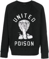 Kokon To Zai cobra embroidered sweatshirt