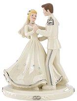 Lenox 836612 Classics Disney's Cinderella & Prince Platinum Cake Topper by