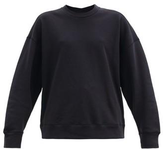 Jil Sander Round-neck Organic Cotton-jersey Sweatshirt - Dark Navy