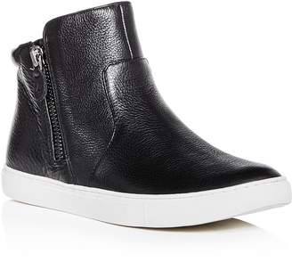 Kenneth Cole Gentle Souls by Women's Carter Leather High Top Sneakers