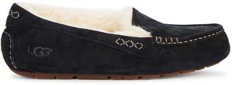 UGG Ansley Black Suede Slippers