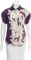 Louis Vuitton Silk Printed Blouse