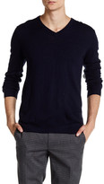 Zadig & Voltaire Peter Genuine Leather Patch Pullover