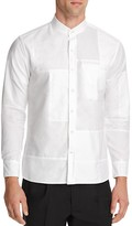 Ovadia & Sons Crosby Patchwork Slim Fit Button Down Shirt