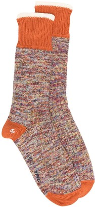 YMC Multicolour Knit Socks