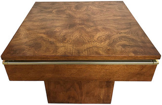One Kings Lane Vintage Mid-Century Modern Burlwood Accent Table - Tobe Reed