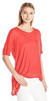 G.H. Bass & Co. Women's Rayon Slub Top