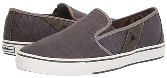 Tommy Bahama Pacific Ridge (Charcoal) Men's Slip on Shoes