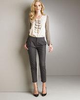 Chloe Flannel Ankle Pants