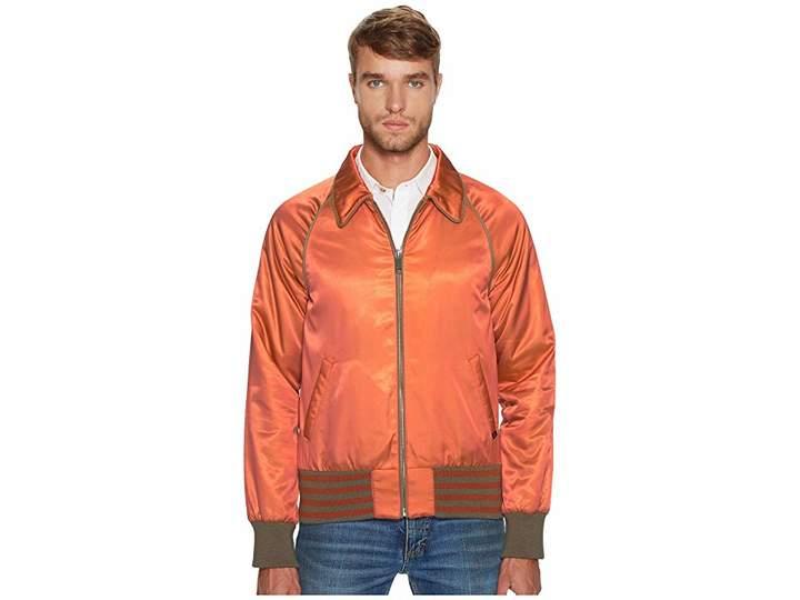 Marc Jacobs Iridescent Twill Bomber Jacket Men's Coat