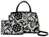 Betsey Johnson Lady Lace Bow Satchel