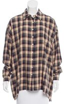 The Great Plaid Oversize Button-Up w/ Tags