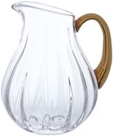 Biba Gold Rim Optic Crystal Jug