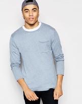 Asos Sweater in Linen Mix Yarn