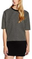 Axara Paris Women's H15 22025 Plain 3/4 Sleeve Sweatshirt