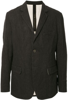 Forme D'Expression Single-Breasted Fitted Blazer