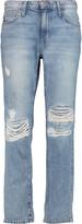 Current/Elliott The High Waist straight-leg jeans