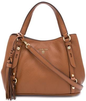 MICHAEL Michael Kors Carrie medium pebbled leather bag