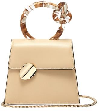 Benedetta Bruzziches 'Brigitta Small' knotted handle leather crossbody bag