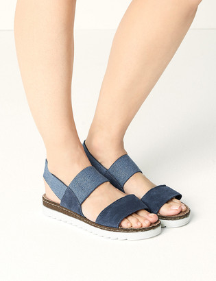 Marks and Spencer Suede Open Toe Sandals