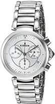 Edox Women's 10220 3M AIN LaPassion Analog Display Swiss Quartz Silver Watch