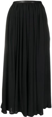 Totême Beja draped maxi skirt