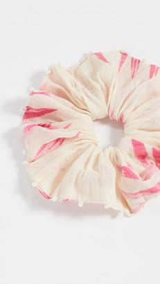 HEMANT AND NANDITA Pink Scrunchie