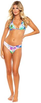 Luli Fama Celestial Dreams Full Ruched Back Bottoms (Multicolor) Women's Swimwear
