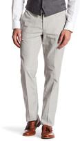 "Bonobos Foundation Grey Plaid Regular Fit Double-Pleated Cotton Trouser - 32-34"" Inseam"