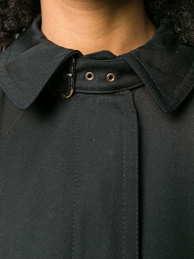 Thumbnail for your product : Valentino Pre-Owned 1980's Belted Midi Coat