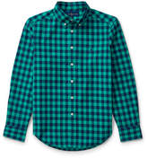 Ralph Lauren Checked Cotton Oxford Shirt