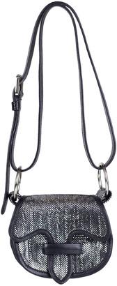 Adriana Castro La Morenita Metallic Leather Crossbody Bag
