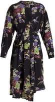 Isabel Marant Iam floral-print silk dress